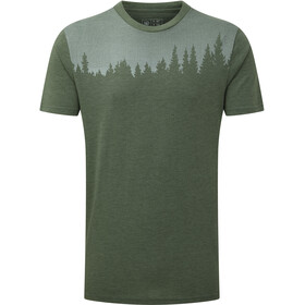 tentree Juniper T-shirt Homme, forest green heather